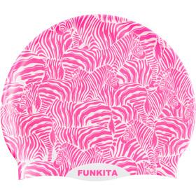 Funkita Silicone Swimming Cap, painted pink